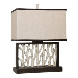 Online Reviews Faux Birch Tree Branch 25 Table Lamp By Mossy Oak Nativ Living