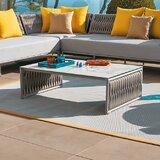 Grogan Stone/Concrete Coffee Table