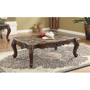 Rockmart Scalloped Living Room Coffee Table by Fleur De Lis Living