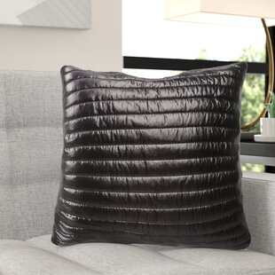 Baglione Quilted Decorative Indoor/Outdoor Throw Pillow