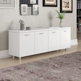 Currency 4 Door Credenza by St..