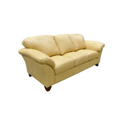 Hunter Green Leather Sofa Wayfair