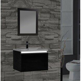 Peguero 30 Single Sink Bathroom Vanity Set by Orren Ellis