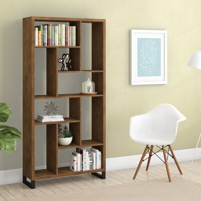 Croyle Geometric Bookcase by Brayden Studio