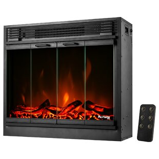 Recessed Electric Fireplace Insert by e-Flame USA