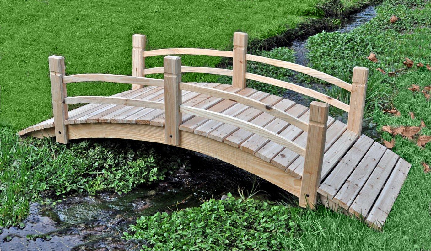 Shine Company Inc. Cedar Garden Bridge & Reviews | Wayfair