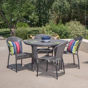 Stricker 5 Piece Dining Set by Alcott Hill