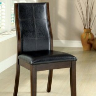 Moreland Padded Upholstered Dining Chair (Set of 2) Winston Porter