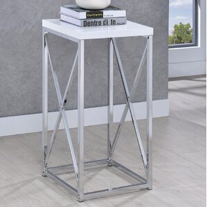 Dhaval End Table by Orren ..
