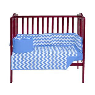 Where buy  Clint Portable 3 Piece Crib Bedding Set By Harriet Bee