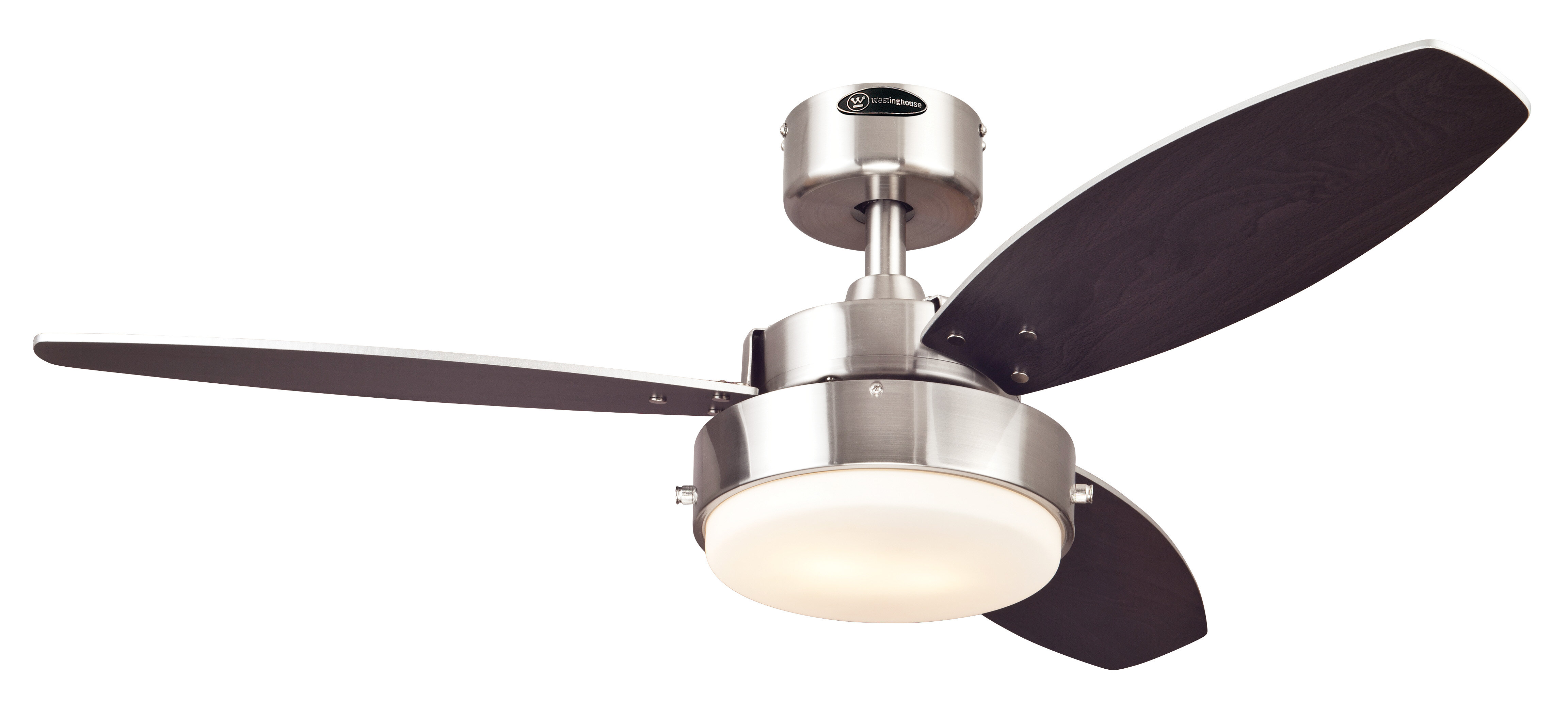 integrated ceiling fan led bn ceilings remote three blade with finish control nickel dc includes brushed