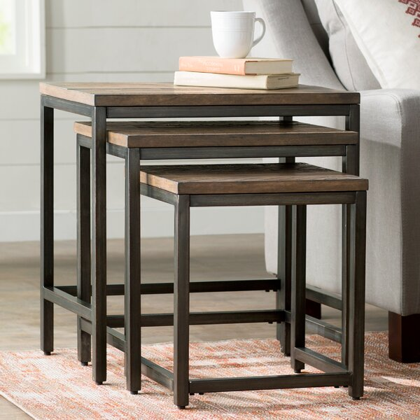 Laurel Foundry Modern Farmhouse Ekalaka 3 Piece Nesting Tables & Reviews by Laurel Foundry Modern Farmhouse