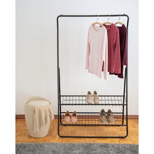 Dores 92cm Wide Clothes Rack By Ebern Designs