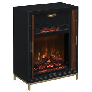 Brenna Electric Fireplace by Mercer41