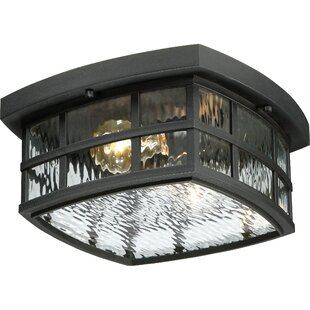 Cayman 2-Light Outdoor Flush Mount by Sol 72 Outdoor Today Sale Only