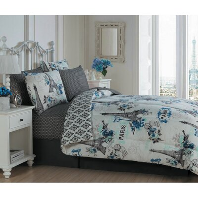 Croghan 8 Piece Comforter Set Ophelia & Co.