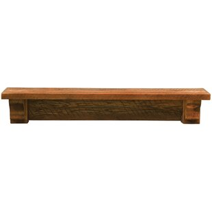 Barnwood Shelf by Fireside Lodge