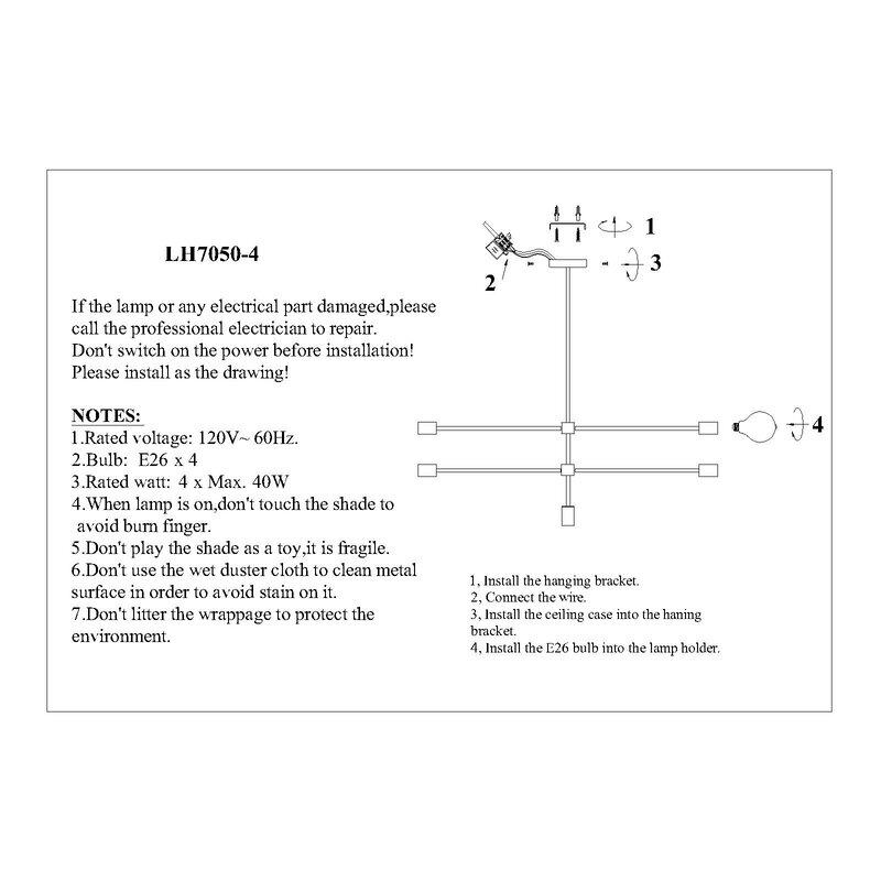 chandelier 2 switch wiring diagram pasargad 4 light sputnik modern linear chandelier wayfair  light sputnik modern linear chandelier