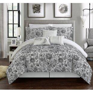 Elle 11 Piece Reversible Bed-In-A-Bag Comforter Set