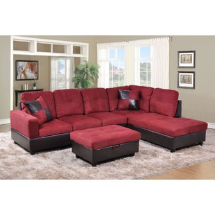 Winston Porter Plumlee Sectional with Ott..