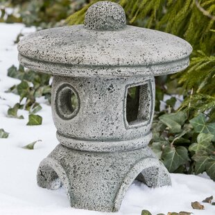 Campania International Rustic Pagoda Statue
