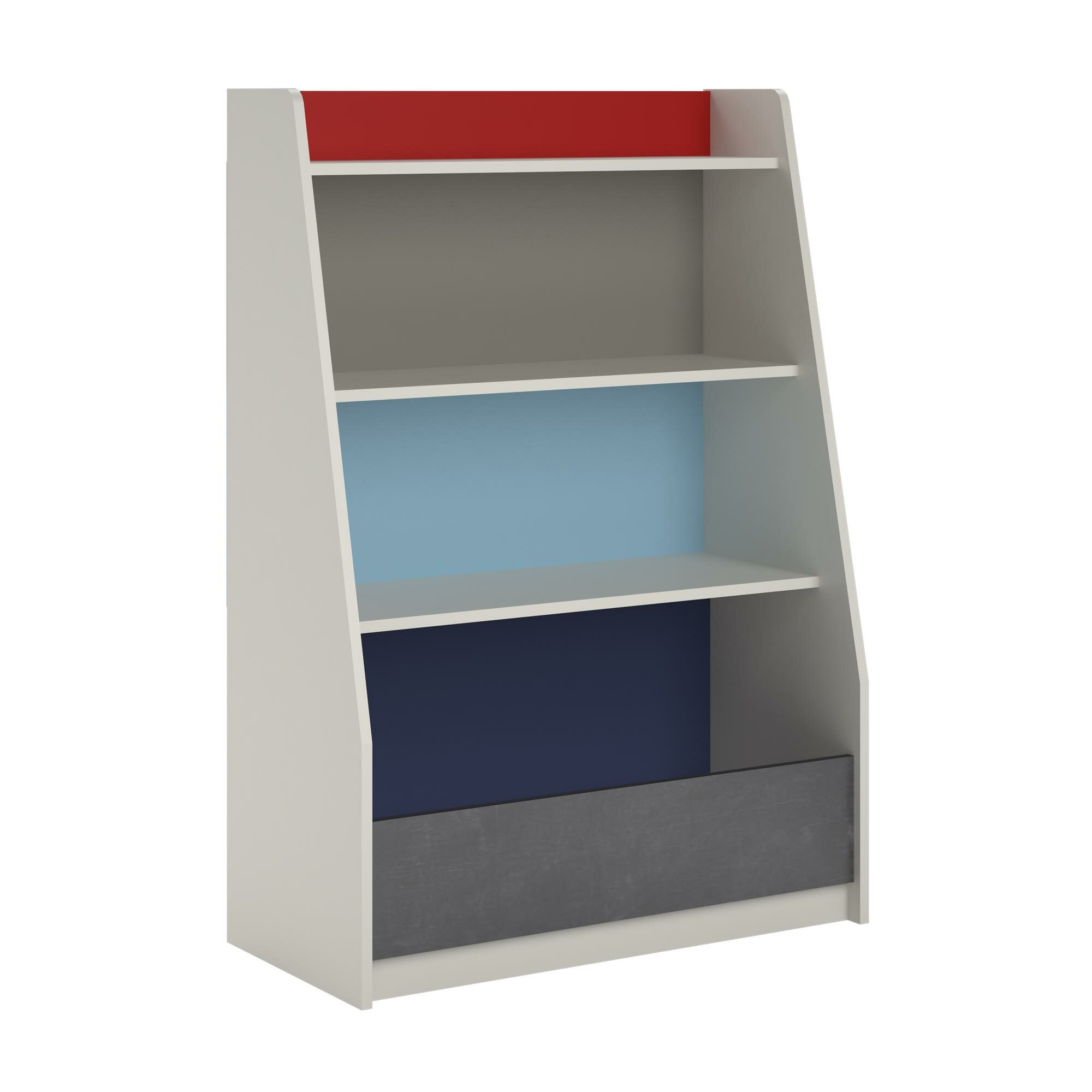 parsons home product free shipping garden hollow bookcase core bookcases today navy overstock ameriwood cube