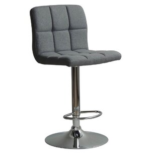 Grier Adjustable Height Swivel Bar Stool