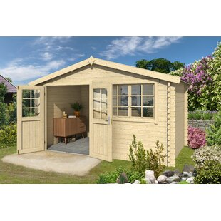Wilk 14 X 10 Ft. Tongue & Groove Summer House By Sol 72 Outdoor