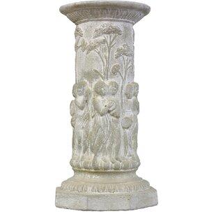 Musical Cherubs Garden Pedestal
