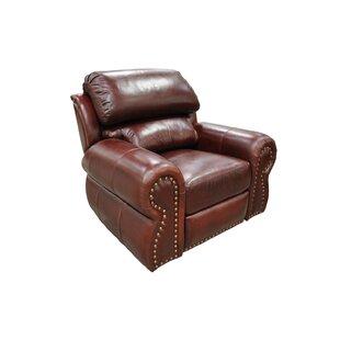 Omnia Leather Cordova Leather Wall Hugger Recliner