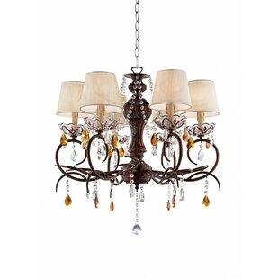 Astoria Grand Mannino 6-Light Shaded Chandelier