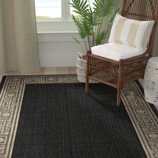 Amaryllis Black/Coffee Indoor/Outdoor Rug