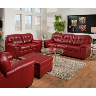Latitude Run David Reclining Configurable Living Room Set
