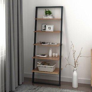 Vestavia 5 Tier Ladder Bookcase by Williston Forge