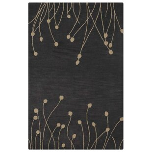 Price Check Creager Hand-Tufted Wool Grey White Area Rug ByEbern Designs