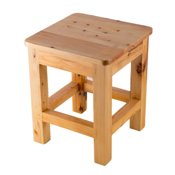 lowest price b4b71 a1fd3 square wood stool You'll Love in 2019 | Wayfair
