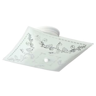 Servin 2-Light Semi-Flush Mount by Astoria Grand