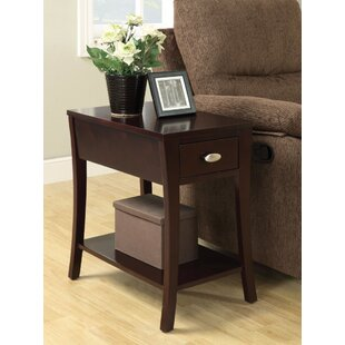 Pazarli End Table with Storage