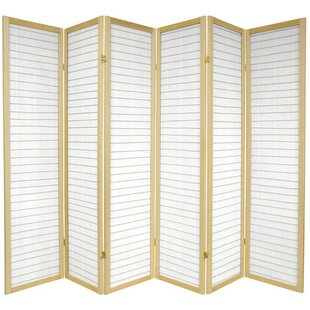 Courtney Shoji 6 Panel Room Divider