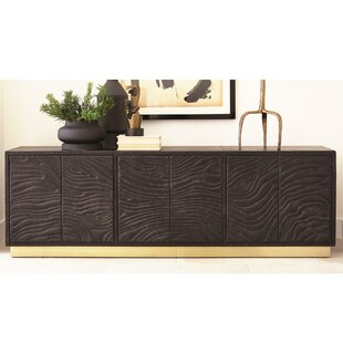 Forest Leather Sideboard by Global Views
