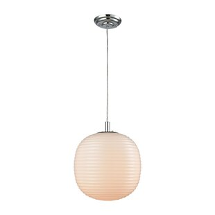 Crowder 1-Light Globe Pendant by Brayden Studio