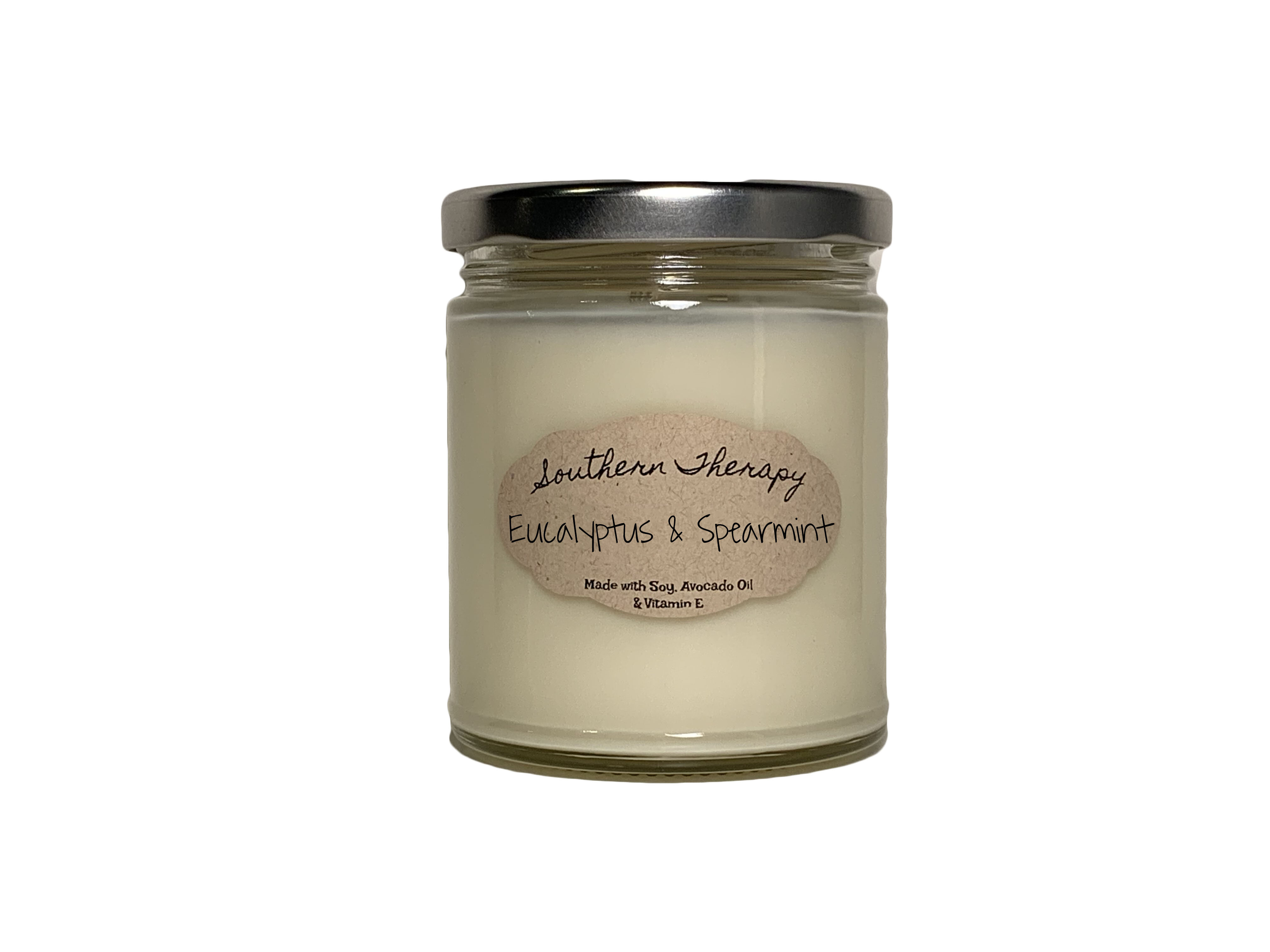 Southern Therapy Candles Eucalyptus And Spearmint Scented Jar Candle Wayfair