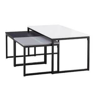 Debi 3 Piece Coffee Table Set By 17 Stories