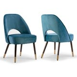 Swind Upholstered Dining Chair (Set of 2) by Everly Quinn