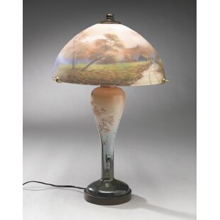 Reverse Painted 20 Table Lamp