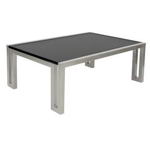 Leona Icon Aluminum Coffee Table