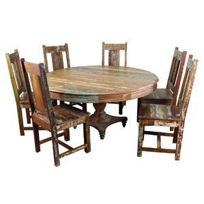 Trinidad 7 Piece Dining Set by MOTI Furni..