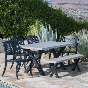 Durdham Park Outdoor 6 Piece Dining Set