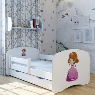 Princess Zion Bed With Drawer By Zoomie Kids