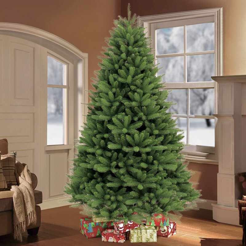 o 7 5 green fir artificial christmas tree with stand reviews